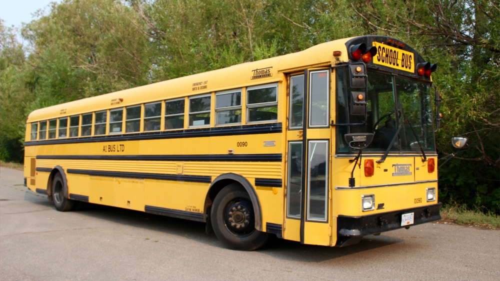 A1 Bus - Vernon BC - School Bus Rental Kelowna - Fleet Pictures - 56 Passenger School Bus 1