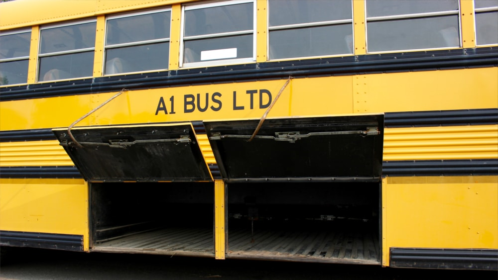A1 Bus - Vernon BC - School Bus Rental Kelowna - Fleet Pictures - 56 Passenger School Bus 2