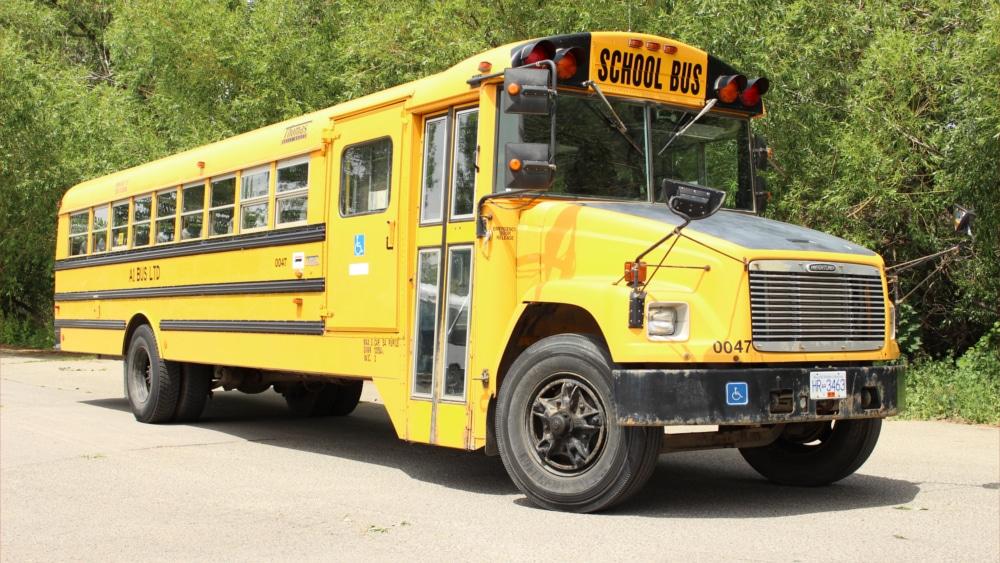 A1 Bus - Vernon BC - School Bus Rental Kelowna - Fleet Pictures - Wheelchair School Bus 1