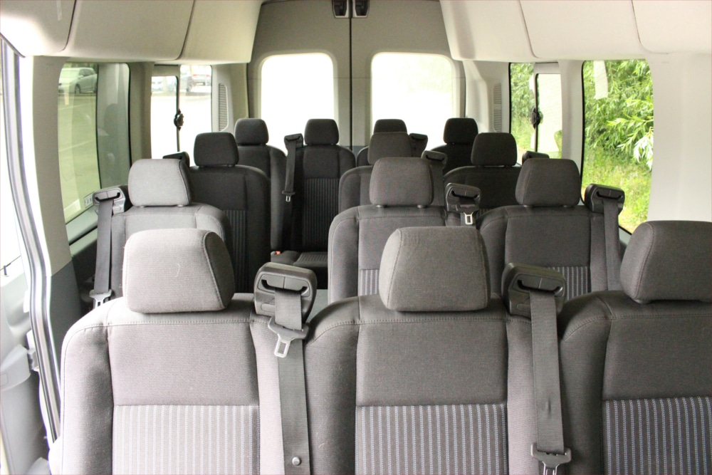 A1 Bus - Vernon BC - Wedding Party Shuttle Bus Service - Fleet Pictures - 15 Passenger Transit Van 3