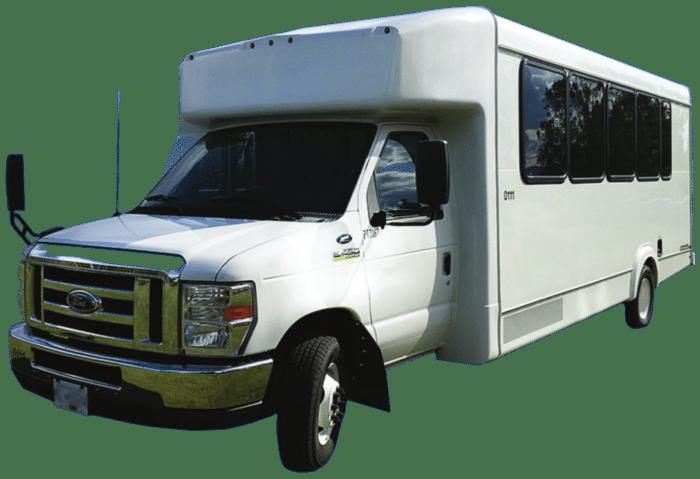 A1 Bus - Vernon BC - Wedding Party Shuttle Bus Service - Fleet Pictures - 20-24 Passenger Bus