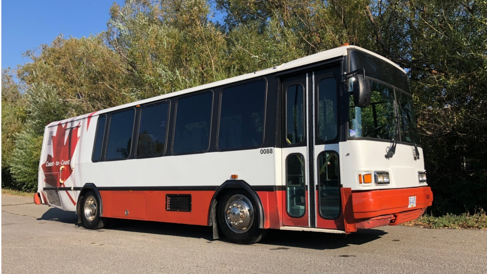 A1 Bus - Vernon BC - Wedding Party Shuttle Bus Service - Fleet Pictures - Bus 88 - 1